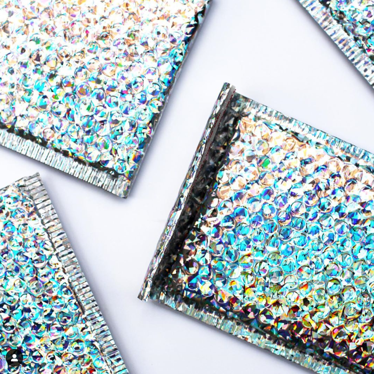Holographic Bubble Mailers