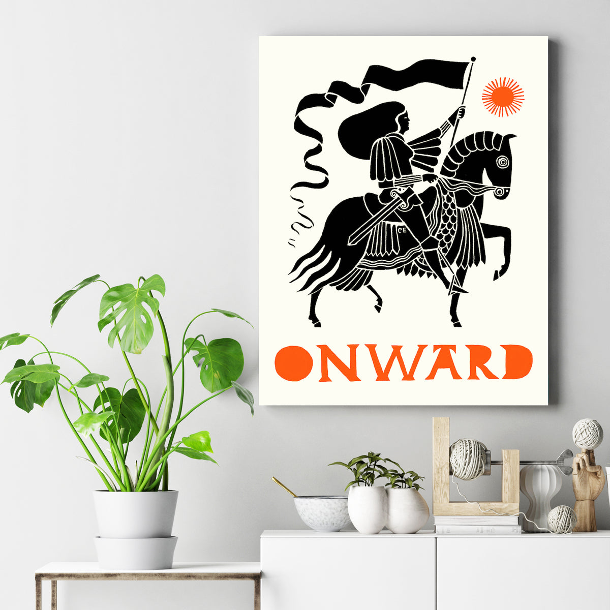 Mounted Canvas Art Prints