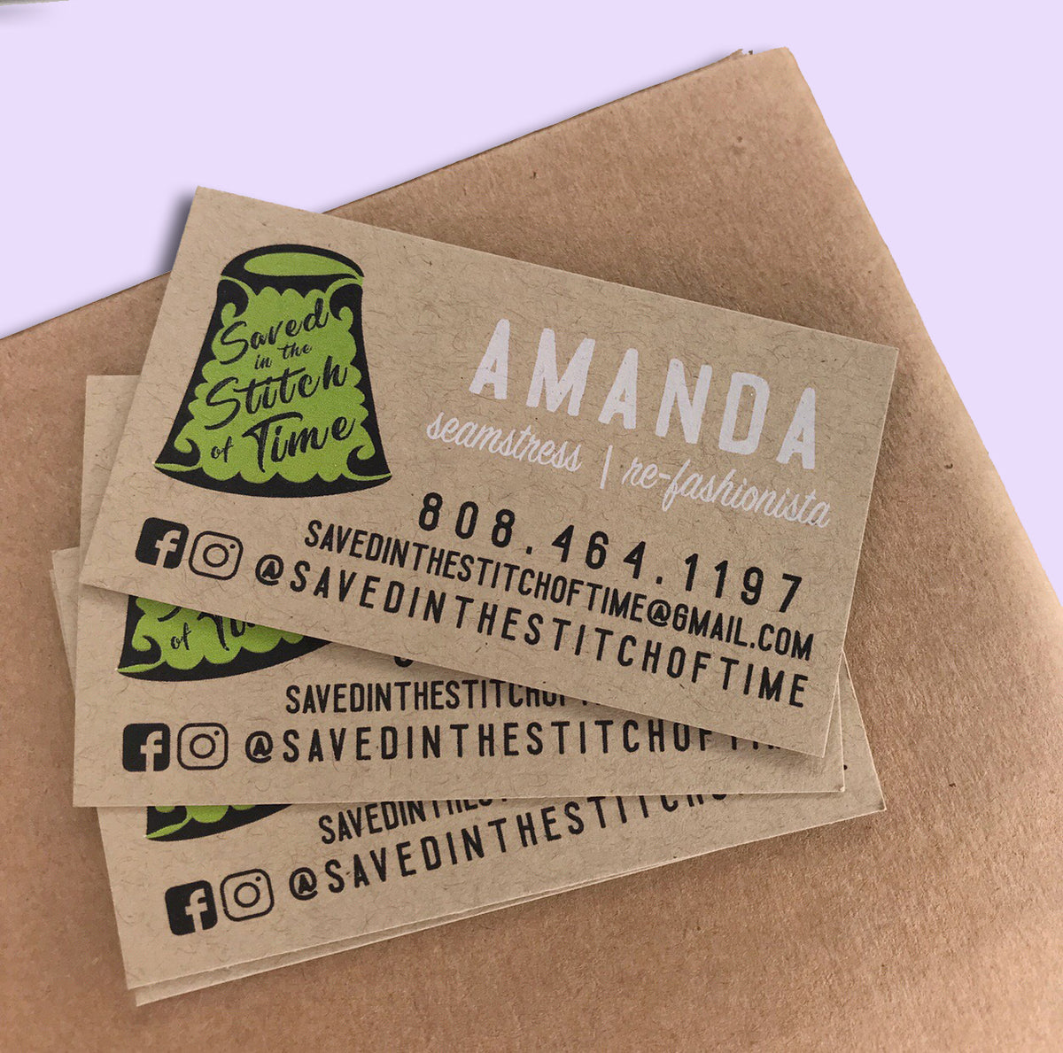 Recycled Kraft Business Cards