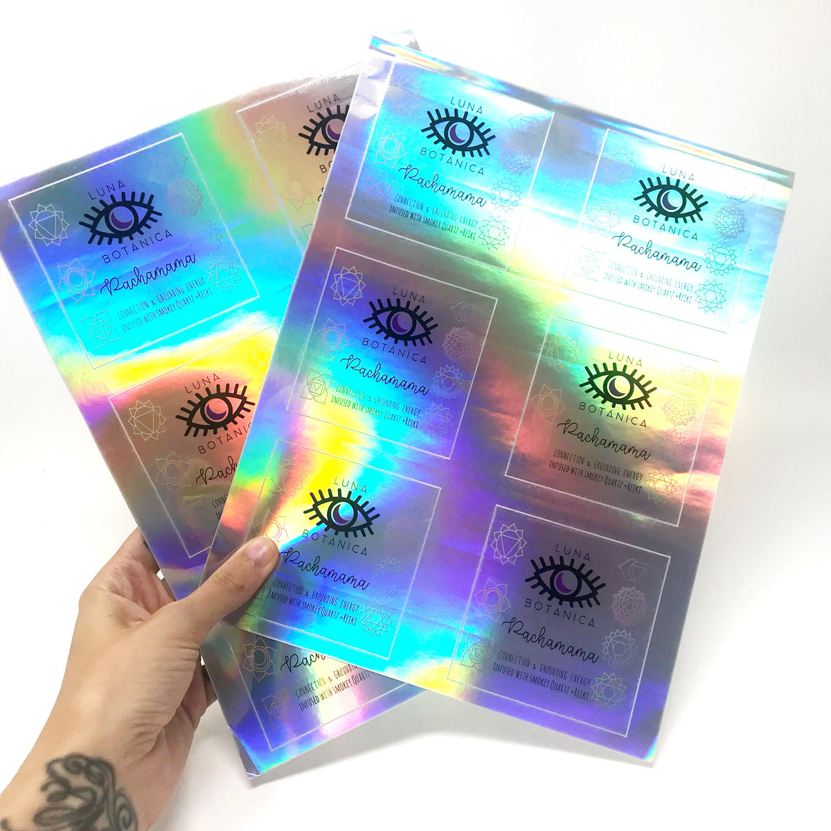 Holographic Sticker Sheets