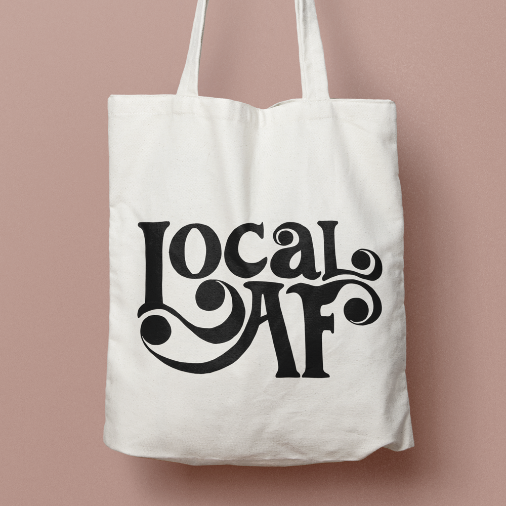 Tote Bag and Sticker Bundle