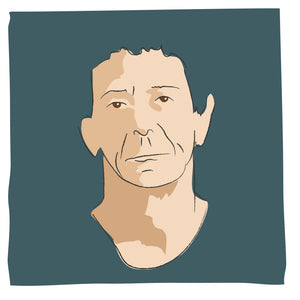 Portret Lou Reed