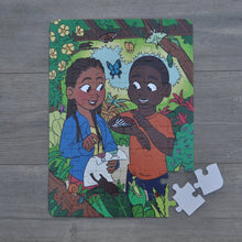 "Large Insect Garden Puzzle (12"" x 16.5"" w/54 Pieces)"