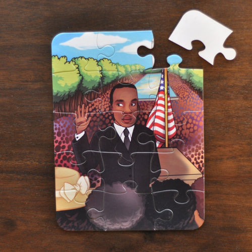 Small March on Washington Puzzle (6in x 8in w/15 pieces)