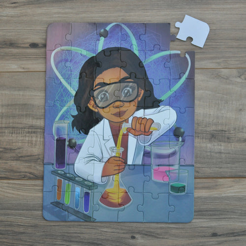 Future Scientist Puzzle (10.5in x 14in w/42 pieces)