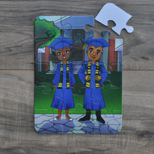 Small Graduation Day Kids' Puzzle (6in x 8in w/15 pieces)