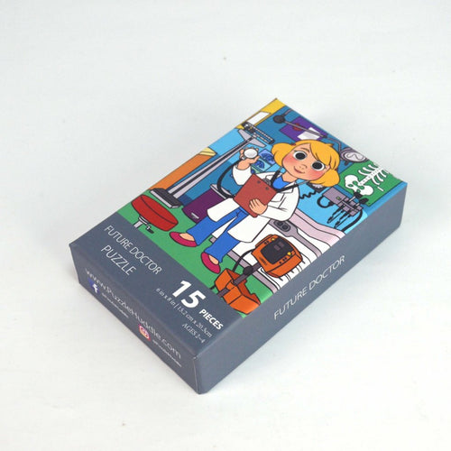 Girl Doctor Puzzle (6in x 8in w/15 pieces)