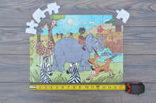 "Large African Savannah Puzzle (12"" x 16.5"" w/54 Pieces)"