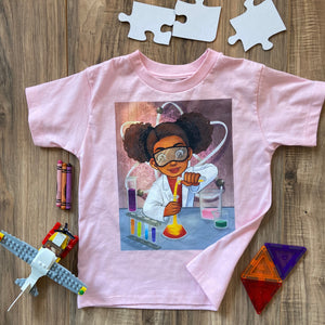 Toddler - Future Scientist Short Sleeve Tee