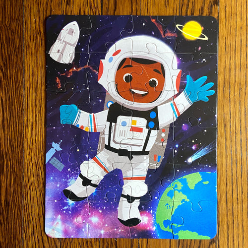 Future Astronaut Puzzle (12in x 10in w/24 pieces)