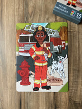 Firefighter Kids' Puzzle (9in x 12in w/15 pieces)