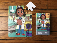 Future Doctor Puzzle (9in x 12in w/15 pieces) Damaged Box