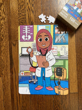 XL Muslim Doctor Puzzle (14in x 19.5in w/100 Pieces)