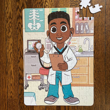 XL Boy Doctor Kids' Puzzle (14in x 19.5in w/100 Pieces)