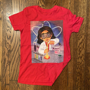 Youth - Scientist Girl Short Sleeve T-Shirt