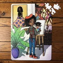 XL Future Artist Kids' Puzzle (14in x 19.5in w/100 Pieces)