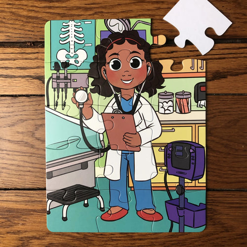 Future Doctor Puzzle (9in x 12in w/15 pieces)