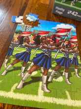 Flashy Flags Puzzle (10.5in x 14in w/42 Pieces)