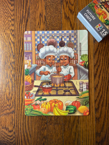 Future Chefs Kids' Puzzle (9in x 12in w/15 pieces)