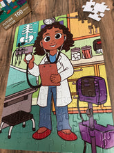DAMAGED BOX XL Future Doctor Kids' Puzzle (14in x 19.5in w/100 Pieces)