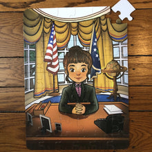 Girl President - Oval Office (12in x 16.5in w/54 pieces)