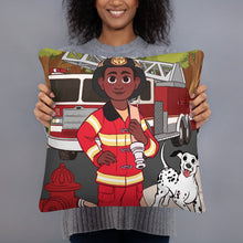 Future Firefighter Pillow