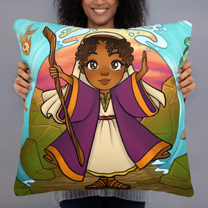 Girl Moses Pillow