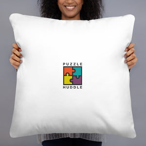 Girl Scientist Pillow