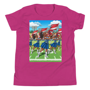Flashy Flags Youth Short Sleeve T-Shirt