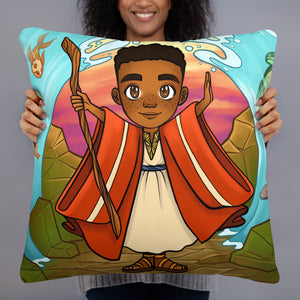 Boy Moses Pillow