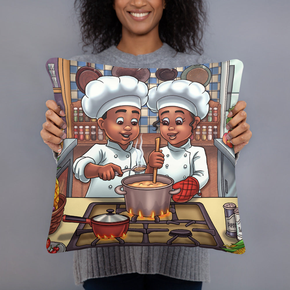 Chef Kids Pillow