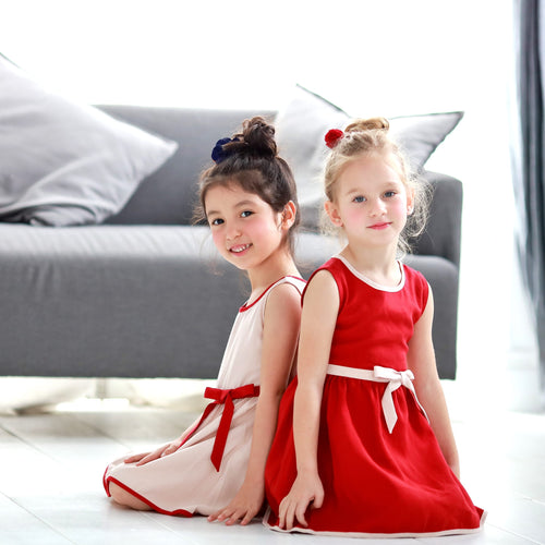 Butterfly Swing Girls Dress, (1y-6y)