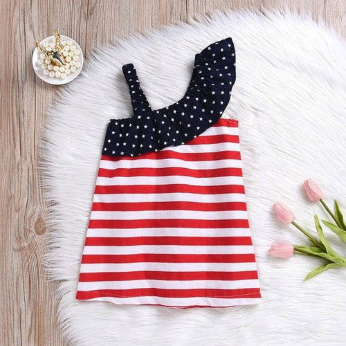 Baby Girls Dress 4th Of July, (12m-5T)