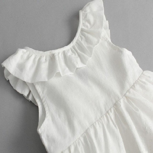 d1bf188b43 Delicate White Dress For Girls Toddler