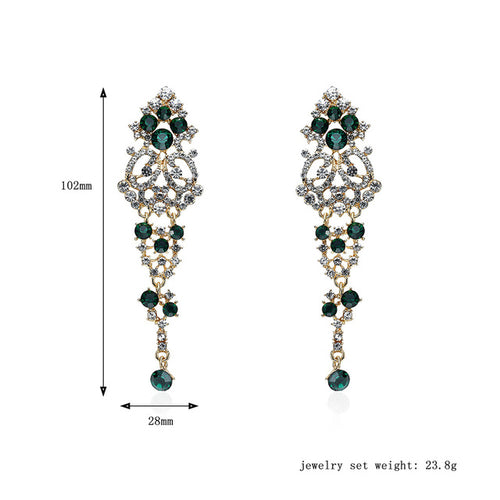 Charm Fashion Water Drop Crystal Earrings