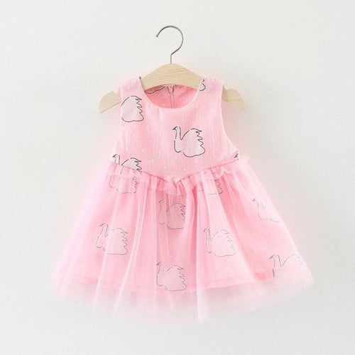 Sweet Infant Toddler Dress Pageant Swan, (12m-3T)