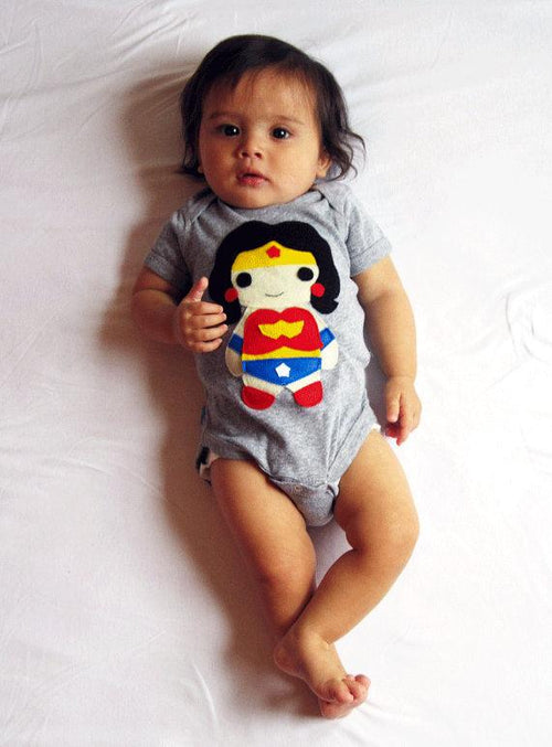 Baby Super Hero Onesie - Wonder Girl