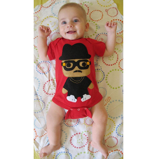 Baby Hip Hop Onesie Rad Rapper - Tall Hat
