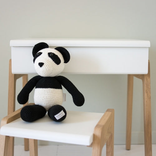 Bao the Panda Hand Knitted Stuffed Animal