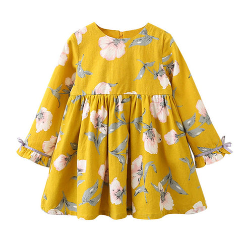 Summer Fashion Baby Girls Chiffon Floral