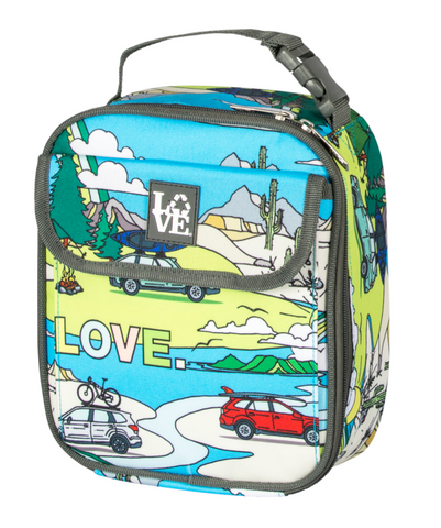Lunch Box Cooler by Love Bags | Made from recycled plastic bottles