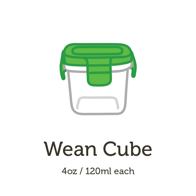 Eco-Friendly Tempered Glass Containers - Wean Green