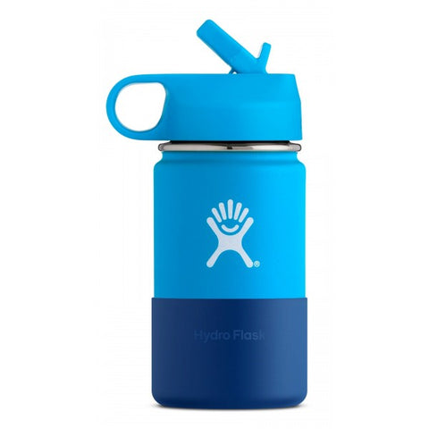 Hydro Flask 12 oz Kids Wide Mouth Stainless Steel Water Bottle