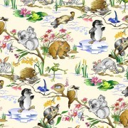 Aussie Nursery: Baby Animals Cream