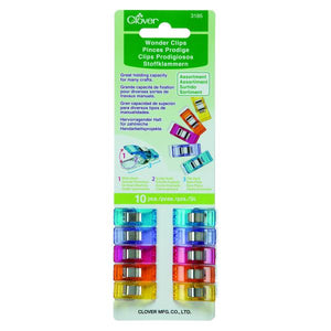 Clover Wonder Clips - Assorted 10 Pieces