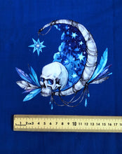 Electric Blue Skull Project Panel