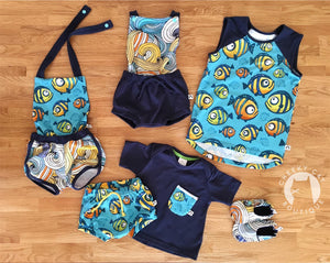 Swirls - Fish with Attitude Coordinate