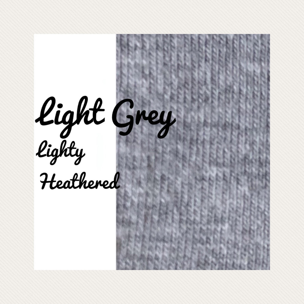 Lightly Heather, Light Grey
