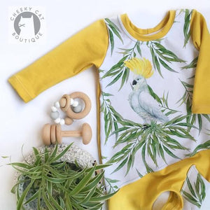 Aussie Cockatoo Panel *Pre-Order