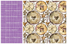 Wooden Nordic Christmas - Purple *50% off Christmas Prints!